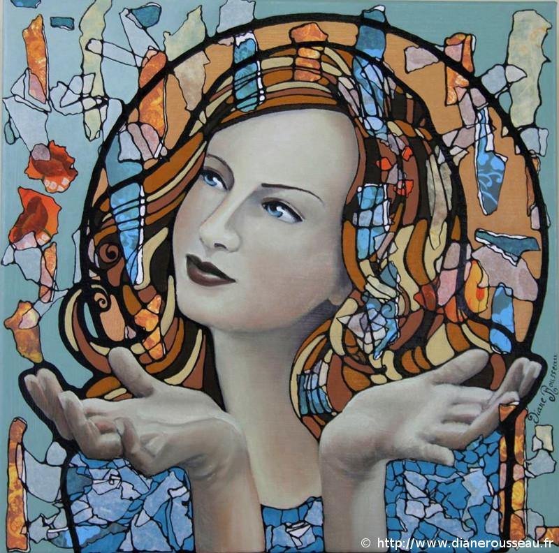 La muse de l'abondance, Diane Rousseau