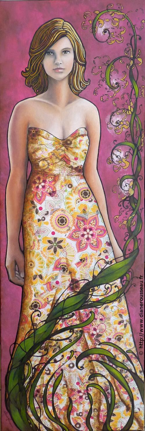 Le printemps, Diane Rousseau