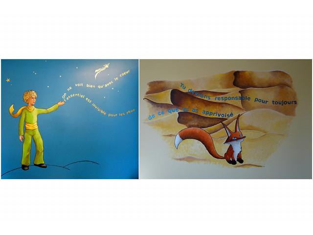 Fresque du Petit Prince