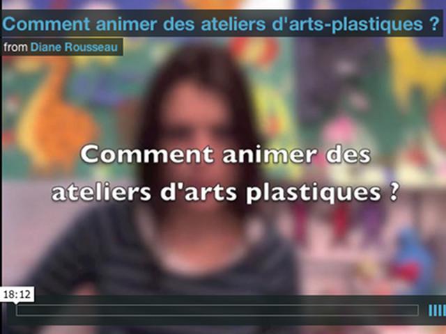 Comment animer des ateliers d'arts-plastiques ?