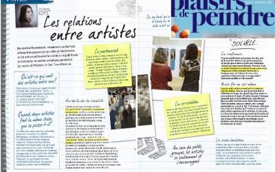 Les relations entre artistes
