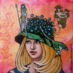 Pandora's hat, Diane Rousseau