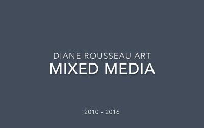 Evolution de mon art : 6 ans de technique-mixte