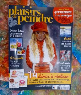 plaisirs de peindre, magazine